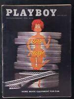 Playboy - 1960 April with Centerfold - GREAT condition magazine & Ads
