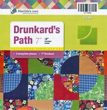 "Matildas Own 7"" Drunkards Path Patchwork Template Set"