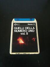 """""""Quelli della Numero Uno vol. 5""""cassetta stereo 8 Numero Uno"""