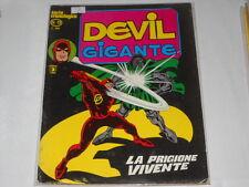 DEVIL  GIGANTE Corno numero  13 originale  !!!