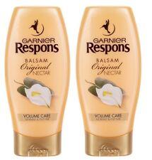 Garnier Respons Balsam Nectar Hair Conditioner Volume Strengthens 2x200ml