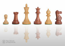 "USCF Sales The Grandmaster Chess Set - Pieces Only - 4.0"" King - Golden Rosewood"