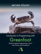 Introduction To Programming with Greenfoot Michael Kolling 2/E 2016 Java Book