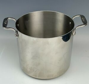 All Clad Hand Crafted Bonded Stainless Steel Nonstick Cookware Stockpot Pot RMG