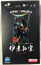 "1:6 DID Japón Samurai ""Día Masamune"" 1566-1636 12"" Figura de Acción (de en Caja)"
