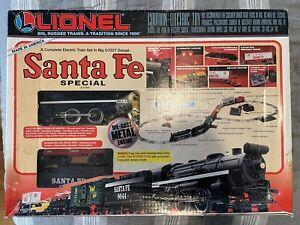 Lionel Santa Fe Special 6-11900 4-4-2 Steam Locomotive Train Set 1998 Cool Set
