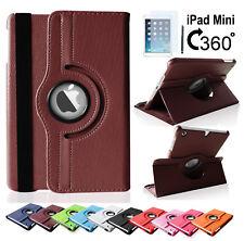 iPad Mini 1 / 2 / 3 360° Schutz Hülle Tasche Smart Cover Case Etui Folie Zubehör