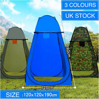 Portable Instant Popup Tent Camping Toilet Shower Changing Single Room Privacy