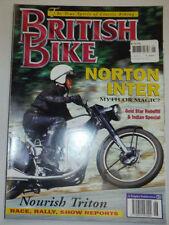 British Bike Magazine Norton Inter Gold Star Rebuild June 1995 012715R