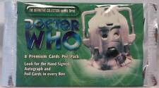 Doctor Who Definitive Collection Series 3 Trading Cards (8 card in 1 pack) NEW