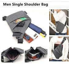 Waterproof Personal Nylon Shoulder Pocket Bag Business Sling Bag Anti-theft Bag~