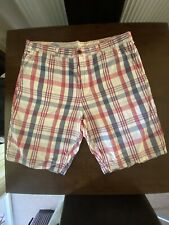 Genuine Tommy Hilfiger Denim Checked Shorts 38W