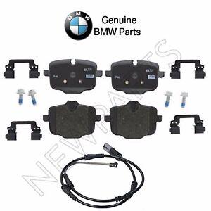 For BMW G12 G30 740i 750i 530i xDrive 540i Rear Brake Pads Set w/ Sensor Genuine