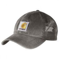Carhartt - Casquette Buffalo - Gris 100286GVL Casquette Baseball Homme Bonnets