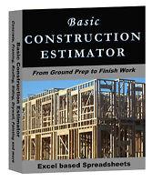 Basic Construction Estimator (Fast accurate estimates)