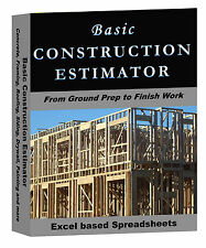 Basic Construction Estimator FREE 14d TRIAL AVAILABLE