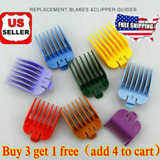 8Pcs Premium Guide Accurate Hair Limt Cutting Comb Guards Tools for wahl Clipper