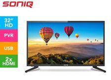 SONIQ 32 inch TV E32V17A-AU LED LCD HD HDMI Record Built-in PVR Remote -NEW