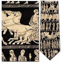 Greek Panathenaic Gods and Goddesses Procession Silk Tie - 8479