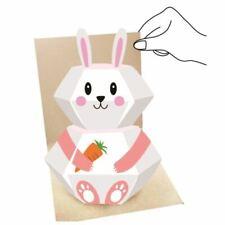 3D Pop up Animal Greeting Card - Rabbit