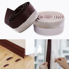 AU NEW Self-Adhesive Silicone Rubber Wind Weather Strip Window Door Sealing Tape