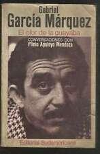 G Garcia Marquez Book Olor De La Guayaba 1ºED 1982