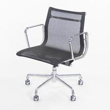 2009 Herman Miller Eames Aluminum Group Executive Low-Back Black Mesh Desk Chair
