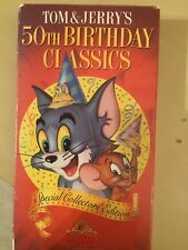 Tom and Jerry's 50th Birthday Classics 1 - VHS - Special Collectors' Ed.