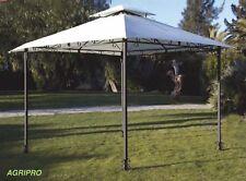 Gazebo giardino mt 3 x 3 antivento antipioggia copertura tenda impermeabile