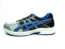 ASICS GEL CONTEND 4 (4E) SILVER CLASSIC BLUE BLACK MEN SHOES SIZE 10