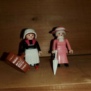 Vtg Playmobil 5500 Victorian Ladies Missing Dog
