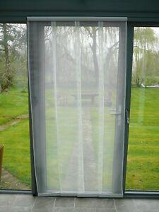 Flyscreen Panel Door 200 x 230cm White
