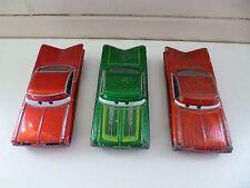 3x Ramona Chevrolet Impala - Cars - Disney Pixar - Red / Green - China