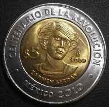 5 pesos Mexico Carmen Serdan 2009 UNC