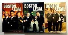 Boston Legal Seasons 1-3 TV Show