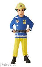 Fireman Sam Déguisement Costume Toddler - 2-3 ans Bleu