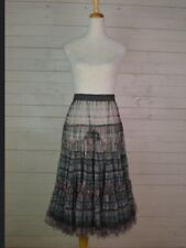 MULTI COLOURED NET PETTICOAT  BY BOHEMIA OF SWEDEN. RRP £75  SIZE , S, M  OR L