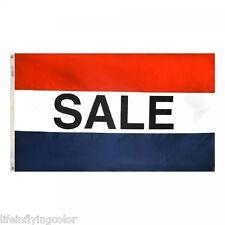 "Sale 3X5' Banner Flag New 3'X5' Big Sign 36X60"" 3 X 5"