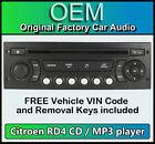 Citroen Dispatch car stereo MP3 CD player Citroen RD4 radio + FREE Vin Code