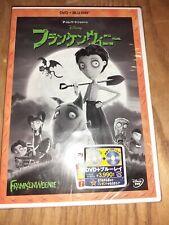 Frankenweenie dvd New 2 disc Chinese