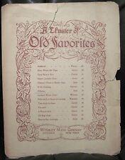 Irish Sheet Music KILLARNEY Lakes & Fells M W Balfe Vocal Song 4 Verses McKinley