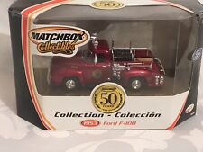 NOS - MATCHBOX COLLECTIBLES 1953 FORD F-100 FIRE TRUCK 50TH 1/43