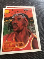 hakeem olajuwon Fleer TheDream Card