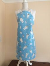 ADULT//LADIES APRON COOKING//CRAFT PVC WIPE CLEAN BLUEBIRDS//SWALLOWS IDEAL GIFT
