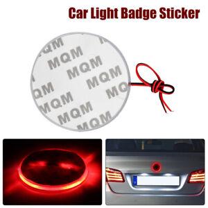 Car Logo Light 4D Badge Lamp Sticker Decoration Emblem For BMW Red LED 12v 2W