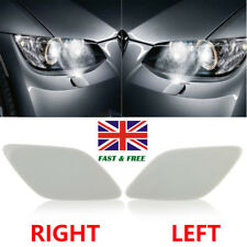 Left Passenger +Right Driver Side Headlight Washer Cover Cap For BMW 3 Series