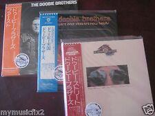 DOBBIE BROTHERS Replica TO THE ORIGINA LP'S in a JAPAN OBI CD RARE 3 TITLE SET