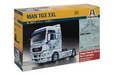 ITALERI 1:24 KIT TRUCK CAMION MAN TGX XXL DECALS PER 2 VERSIONI 23,7 CM ART 3877