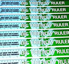 BACK TO SCHOOL, ECO 4p! FRIENDLY CARDBOARD RULERS X 100, JUST 4p,