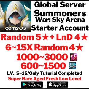 [Global] [Instant] NAT 5 LnD 4 Summoners War Starter Account